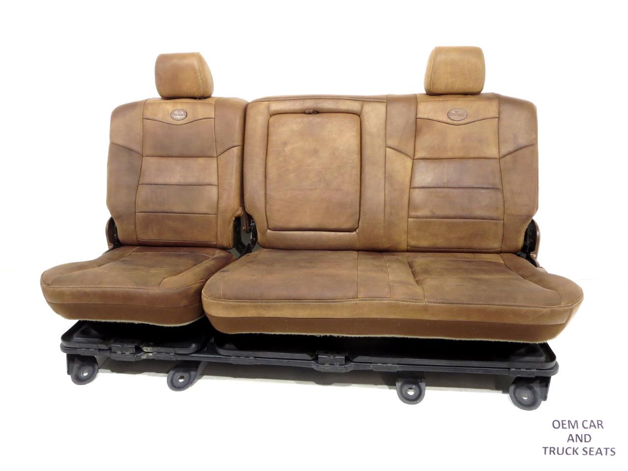 Awe Inspiring Ford Super Duty F250 F350 King Ranch Rear Seat 2003 2004 2005 2006 2007 Squirreltailoven Fun Painted Chair Ideas Images Squirreltailovenorg