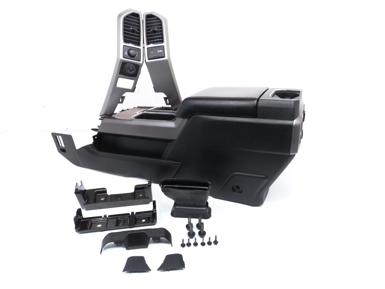 Ford Expedition King Ranch >> Replacement Ford Center Console Install Kit 2015 2016 2017 2018 Black F150 F250 F350 Super Duty ...