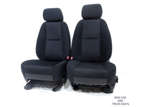 Gm Oem Silverado Tahoe Cloth Seats 2007 2008 2009 2010 2011 2012 2013 2014 '