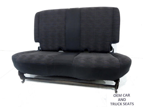 Jeep Wrangler Tj Oem Cloth Rear Seats 1999 2000 2001 2002 2003 2004 2005 2006