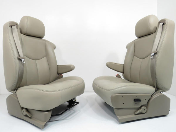 Chevy Silverado Replacement Seats >> Replacement GM Chevy Shale Leather Seats Tahoe Yukon ...
