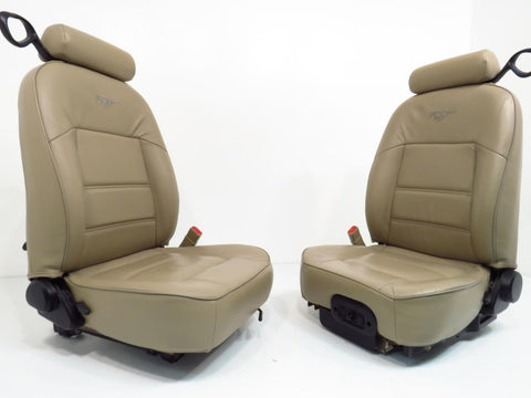 Ford Mustang Seats Tan Leather 1994 1995 1996 1997 1998 1999 2000 2001 2002 2003 2004