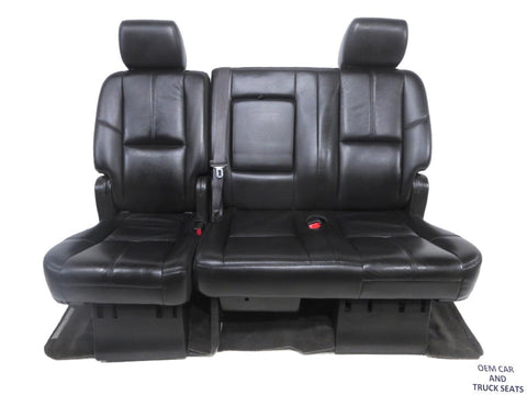 Gm Suburban Yukon Xl Rear Bench Seat 2007 2008 2009 2010 2011 2012 2013 2014