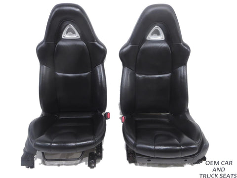 Mazda Rx8 Oem Used Black Leather Seats 2004 2005 2006 2007 2008