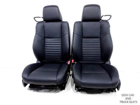 Dodge Challenger Black Leather Seats 2011 2012 2013 2014 2015 2016 2017 2018