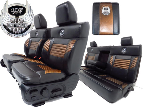 Ford F150 Harley Davidson Seats 105th Anniversary 2004 2005 2006 2007 2008