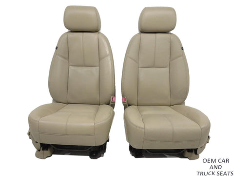 Gm Oem Silverado Tahoe Leather Seats 2007 2008 2009 2010 2011 2012 2013 2014 '