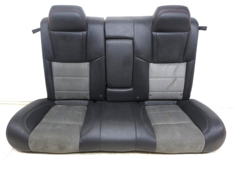 Dodge Charger Srt8 Oem Leather Suede Rear Seat 2007 2008 2009 2010