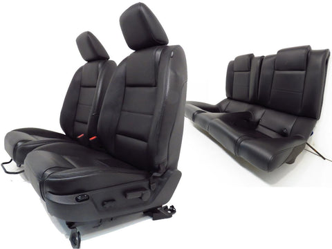 Ford Mustang Seats Black Leather Front Rear Seats Coupe 2005 2006 2007 2008 2009