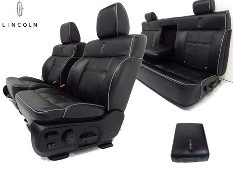 Lincoln Mark Lt Seats Ford F150 F 150 Front & Rear Seats 2004 2005 2006 2007 2008