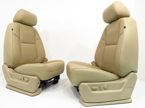 Gm Oem Silverado Tahoe Leather Seats LTZ Heated & Cooled 2007 2008 2009 2010 2011 2012 2013 2014 '