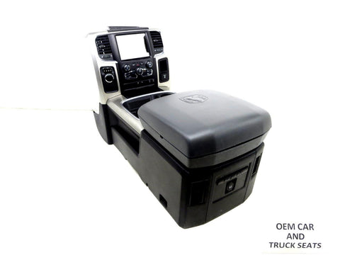 Dodge Ram Oem Center Console 2009 2010 2011 2012 2013 2014 2015 2016 2017 2018