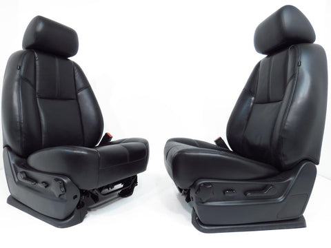 Gm Oem Silverado Tahoe Leather Seats 2007 2008 2009 2010 2011 2012 2013 2014