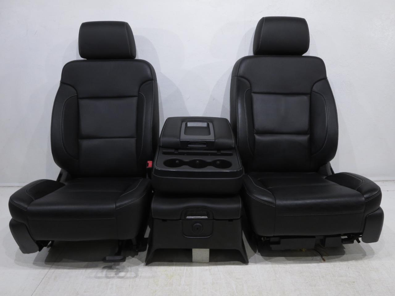 Chevy Silverado Replacement Seats >> Replacement Chevy Silverado Gmc Sierra Oem Leather Seats 2014 2015 2016 2017 2018 ' | Stock # 1062i