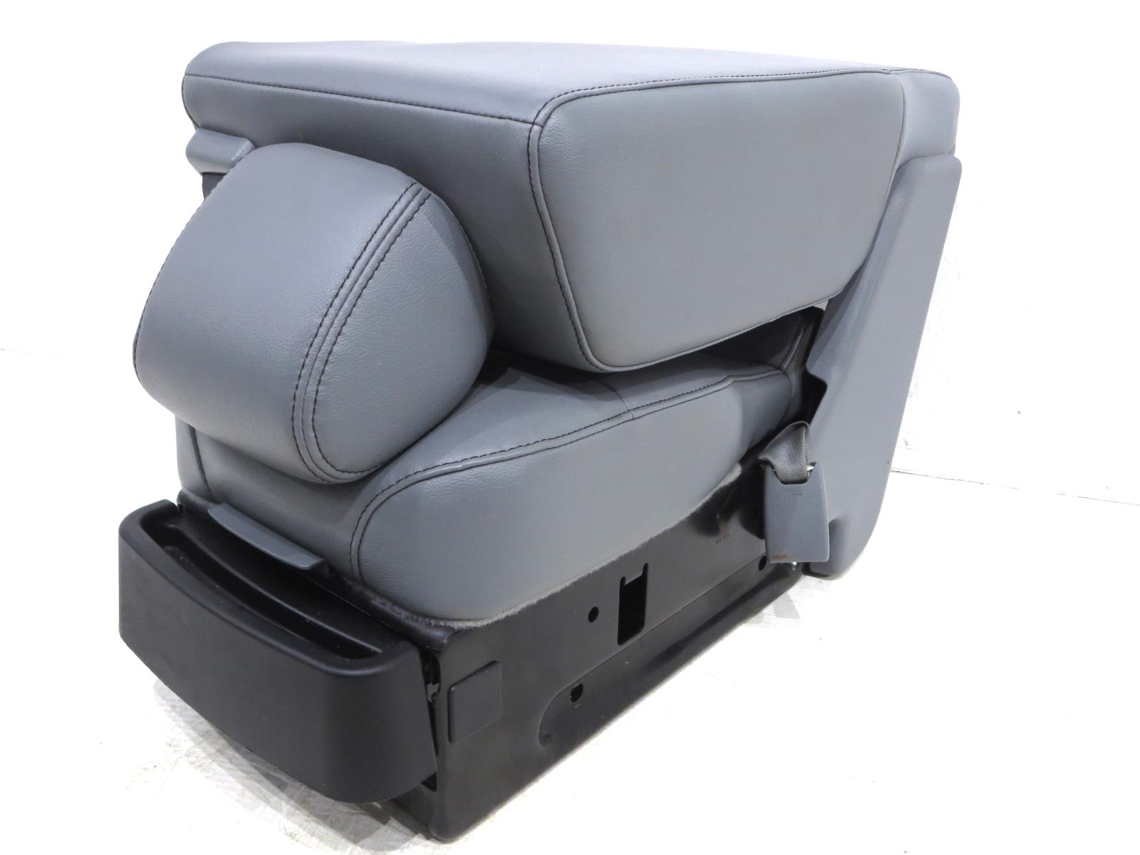 Ford F150 F 150 Vinyl Center Console Jump Seat Jumpseat 2009 2010 2011 2012 2013 2014