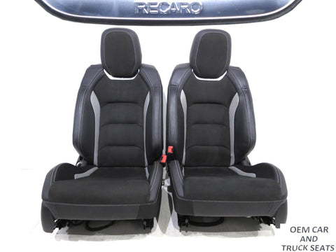 Chevrolet Camaro Recaro Heated Cooled Leather Front Seats 2016 2017 2018 2019