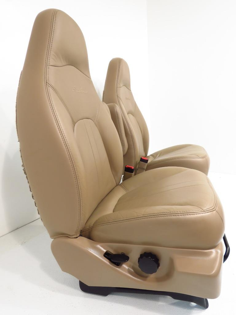 seats expedition bauer eddie leather bucket 1998 2001 2003 powered ford 1997 1999 2002 2000
