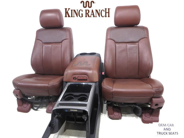 ranch king leather ford seats f250 f350 duty super replacement