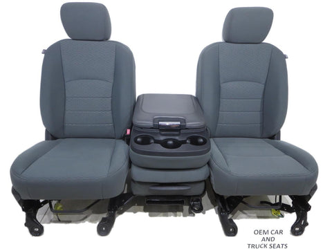 Dodge Ram Cloth Seats 2009 2010 2011 2012 2013 2014 2015 2016 2017 2018