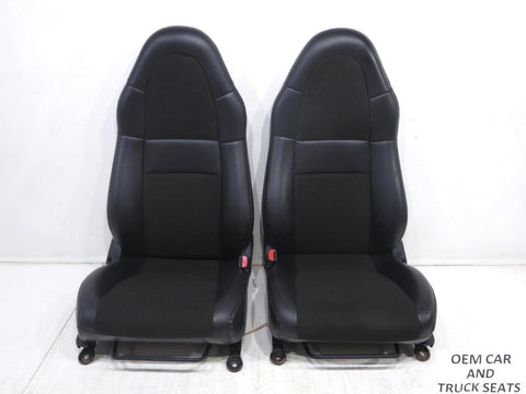 Toyota Mr2 Leatherette Cloth Seats Vinyl 2000 2001 2002 2003 2004 2005