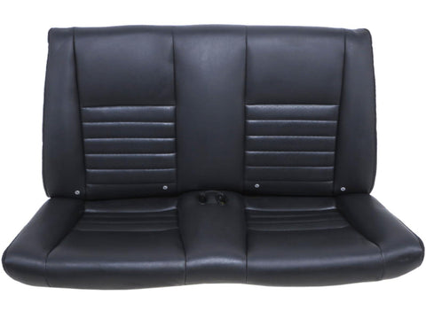 Convertible Ford Mustang Black Leather Rear Seat 1994 - 2000 2001 2002 2003 2004
