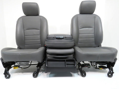 Dodge Ram Power Leather Seats 2009 2010 2011 2012 2013 2014 2015 2016 2017 2018