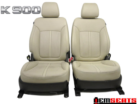 Kia K900 Oem Beige Leather Seats K9 Heated Ventilated 2015 2016 2017