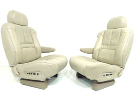 Cadillac Escalade Seats 2000 - 2001 Shale Leather Chevy Tahoe Suburban Silverado 1995 - 1999