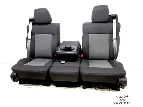 Ford F150 Oem Cloth Seats W/ Jumpseat Regular & Extended Cab 2005 2006 2007 2008
