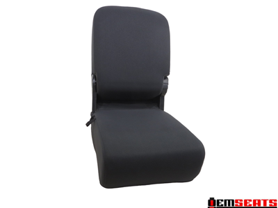 Dodge Ram Black Cloth Jump Seat 2002 2003 2004 2005 2006 2007 2008 2009