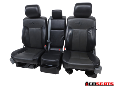 Ford F150 F-150 Flo Grown Leather Crew Cab Seats 2009 2010 2011 2012 2013 2014