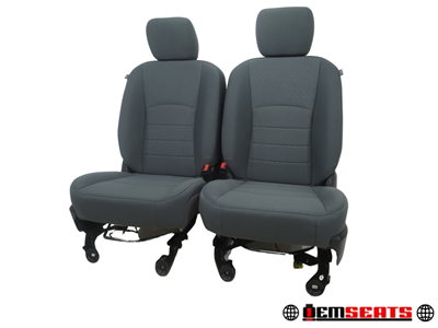 Dodge Ram Oem Cloth Seats 2009 2010 2011 2012 2013 2014 2015 2016 2017 2018