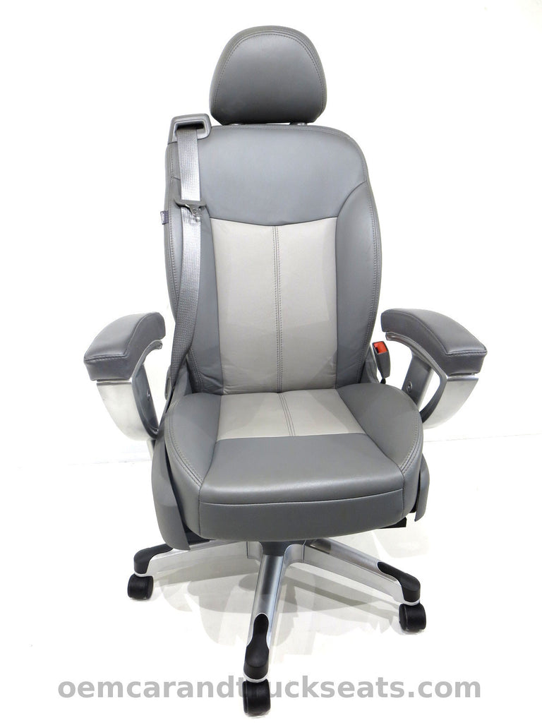 Office Chair With Seatbelt: T.O.D. (The Office Drunk)