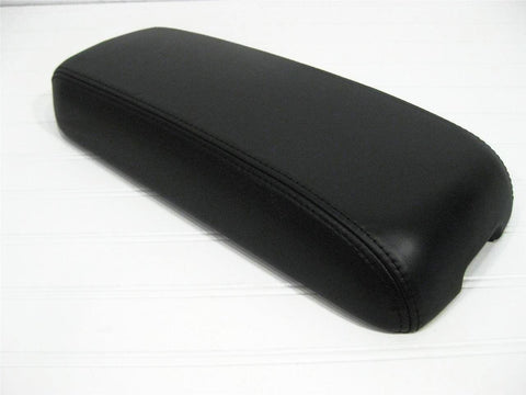 Black Leather Eldorado Console Lid Arm Rest 1996 1997 1998 1999 2000 2001 2002