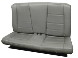 Convertible Ford Mustang Gt Gray Leather Rear Seat 1999 2000 2001 2002 2003 2004