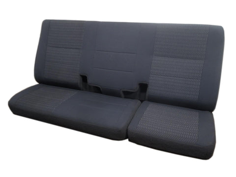 Ford F150 F-150 Cloth Rear Back Seat Grey 1997 1998 1999 2000 2001 2002 2003
