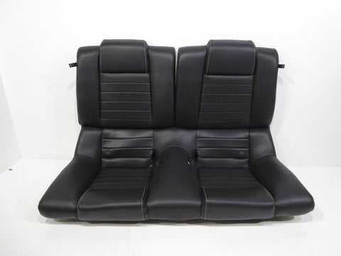 Oem Ford Mustang Gt Coupe Leather Rear Seat Black 2010 2011 2012 2013 2014