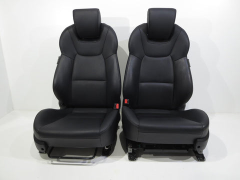 Oem Hyundai Genesis Black Leather Seats 2008 2009 2010 2011 2012 2013 2014 2015