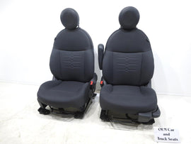 Fiat 500 Coupe Oem Cloth & Vinyl Seats 2011 2012 2013 2014 2015 2016