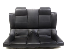 Oem Ford Mustang Gt Convertible Leather Rear Seat Black 2005 2006 2007 2008 2009