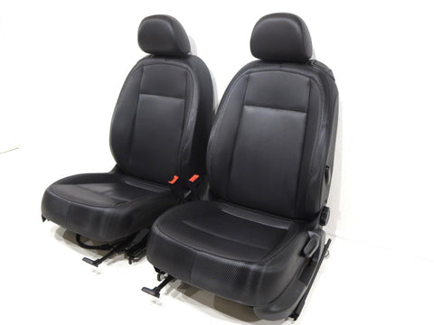 Volkswagen Vw Beetle A5 Titan Black V-tex Leatherette Seats 2012 2013 2014 2015