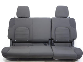 Nissan Frontier Crew Cab Oem Cloth Rear Seats 2005 - 2011 2012 2013 2014 2015