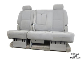 Gm Tahoe Yukon Rear Bench 60-40 Seat 2008 2009 2010 2011 2012 2013 2014 2015