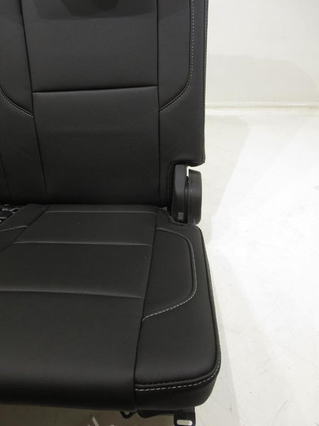 row chevy 3rd tahoe seats suburban leather gm oem yukon manual replacement