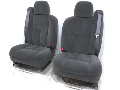 Gm Silverado Sierra Truck Oem Cloth Seats 2000 2001 2002 2003 2004 2005 2006 '
