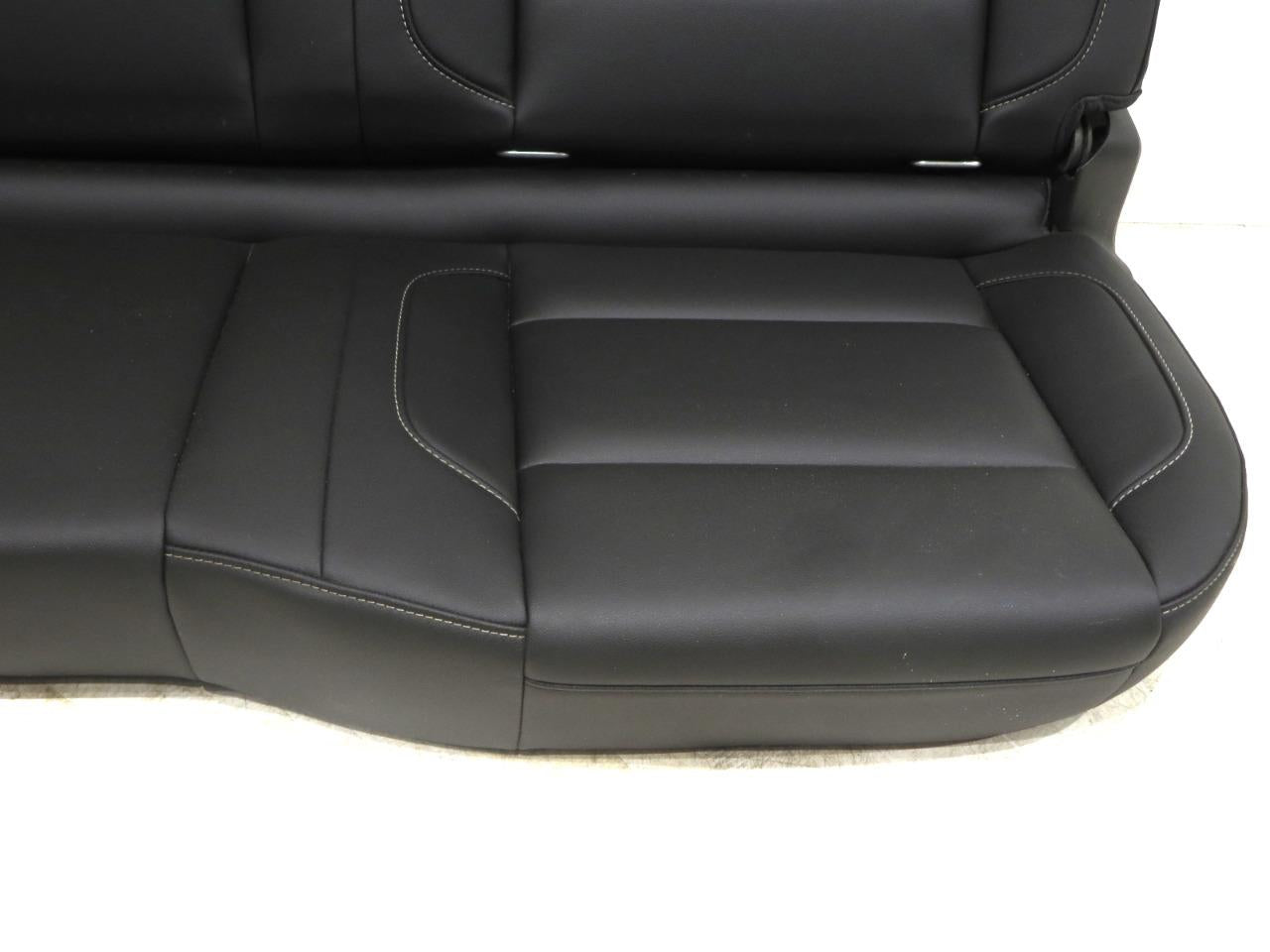 replacement chevy silverado gmc sierra double cab oem leather rear seat