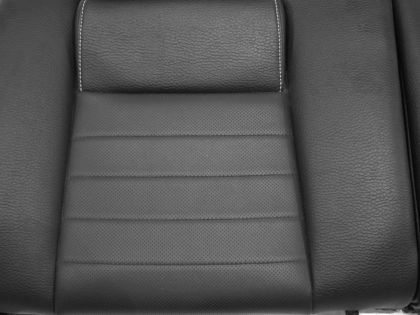 Replacement Oem Ford Mustang Gt Coupe Leather Rear Seat