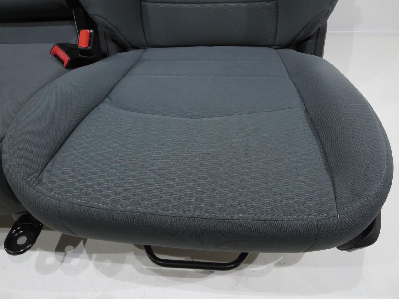 2009 Chevy Silverado For Sale >> Replacement Dodge Ram Oem Front Cloth Seats Gray 2009 2010 ...
