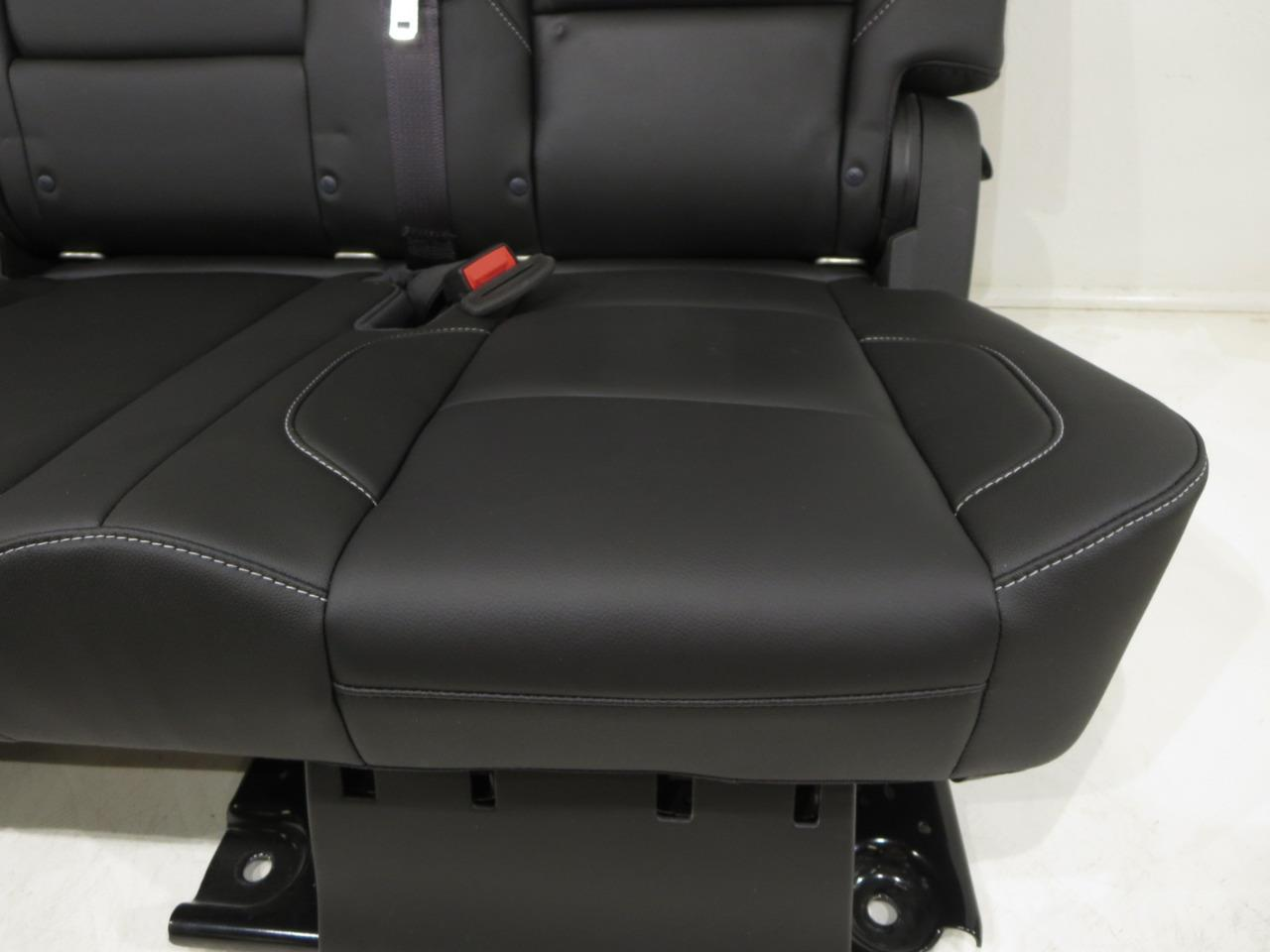 Pleasant Gm Tahoe Yukon Oem Leather Rear Bench Seat Second Row 60 40 2015 2016 2017 Squirreltailoven Fun Painted Chair Ideas Images Squirreltailovenorg