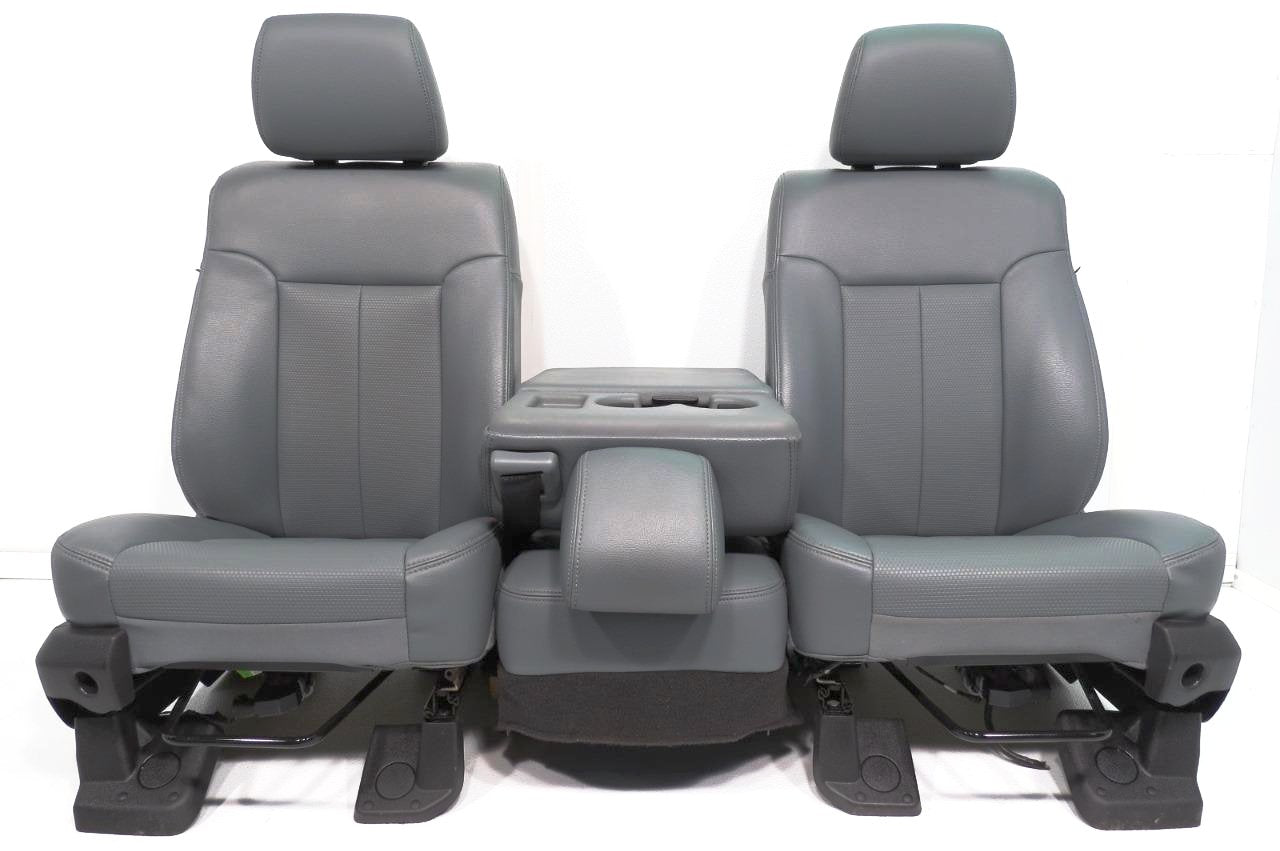 Replacement Ford Super Duty F250 Front Seats W Center